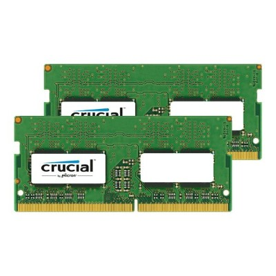 《在庫あり》Crucial 260Pin DDR4 SO-DIMM 2666MHz 16GB(8GBx2) [260-2666-8192x2-CR]