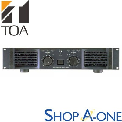TOA トーア パワーアンプ 450Wx2chIP-450D