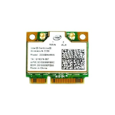 インテル Intel Centrino Wireless-N 2230 Single Band 802.11b/g/n 300Mbps + Bluetooth 4.0 PCIe Mini half...