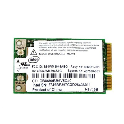 HP純正 407576-001 407576-003 インテル Intel PRO/Wireless 3945ABG 802.11a/b/g PCIe Mini 無線LANカード