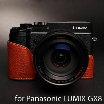 TP Original/ティーピー オリジナル Leather Camera Body Case レザーカメラボディケース for Panasonic LUMIX GX8(DMC-GX8)...