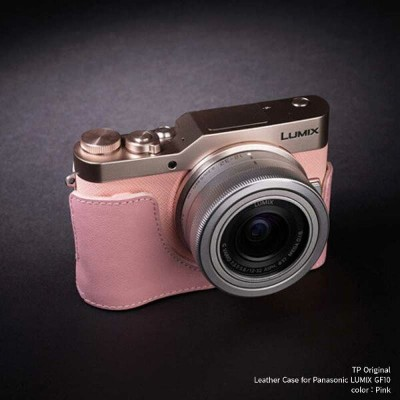 TP Original Leather Camera Body Case for Panasonic LUMIX GF10 Pink ピンク パナソニック ルミックス DC-GF10 本革...
