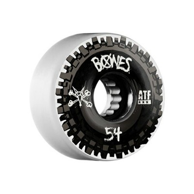 【ボーンズ ウィール】BONES Wheels NOBS White 52/54/56/60mm 80a ATF