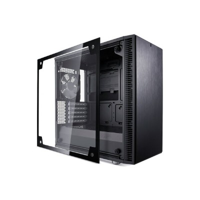 【送料無料】Fractal Design Define Mini C Black Tempered Glass 正規代理店保証付 cs6890