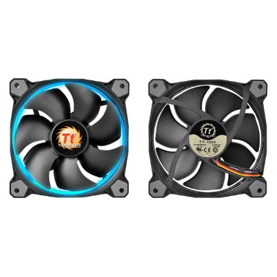 Thermaltake Riing 14 - 256Color LED 正規代理店保証付 コントローラー1つとファン本体1つのセット