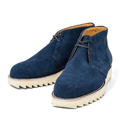 ★SALE 50%OFF★【TOYPLANE/トイプレーン】TOYPLANE SHARK SOLE CHUKKA BOOTS (NAVY) [TP15-FAC05]★CLINK 2019...