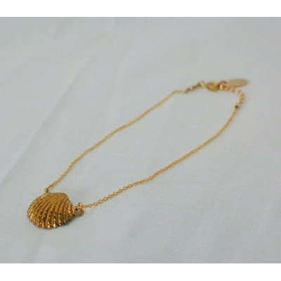 チビジュエルス Chibi jewels Seashell Anklet Cockle Shell