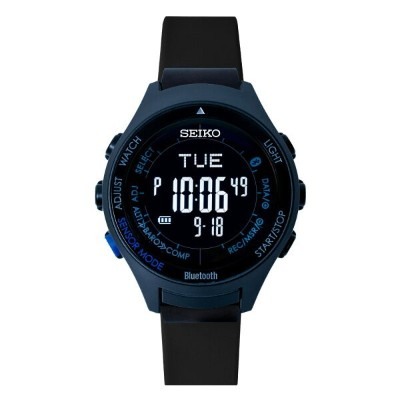 seiko wena wrist active Digital Solar head Blue Black