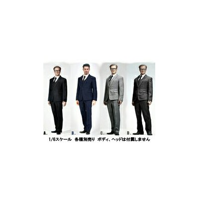 【POPtoys】X26 A B C D Men's Suit 1/6スケール 男性用スーツ