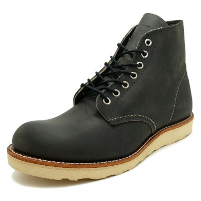 """RED WING 8190 Classic Work 6"""" Round-toe 【レッドウイング 8190 クラシックワーク 6インチ ラウンドトゥ】CHARCOAL ROUGH&TOUGH..."""