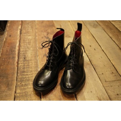 【TRICKERS】トリッカーズ Bliss別注 キャップトゥブーツ Made in England 英国製