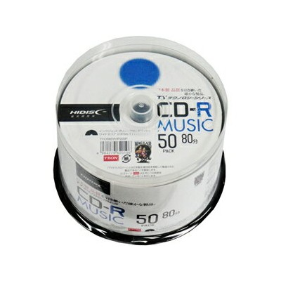 TYCR80YMP50SP HIDISC 音楽用CD-R 700MB 50枚パック