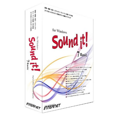 インターネット Sound it! 7 Basic for Windows ガイドブック付き【Win版】(CD-ROM) SOUNDIT7BASICWC [SOUNDIT7BASICWC]