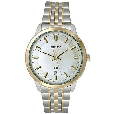 セイコー 腕時計 メンズ SUR044 Seiko Three-Hand Stainless Steel - Two-Tone Men's watch #SUR044セイコー 腕時計 メンズ...