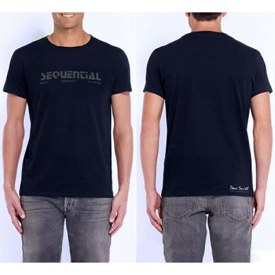 Dave Smith Instruments SEQUENTIAL Logo T-Shirts【Mサイズ/Lサイズ】【お取り寄せ商品】