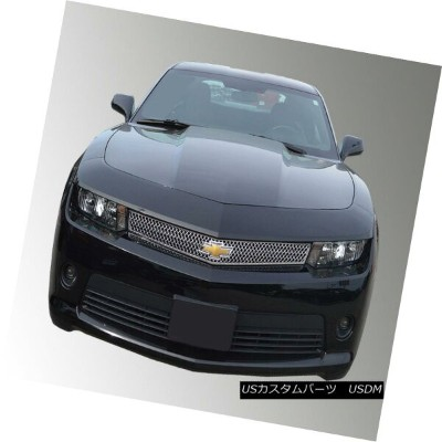 USグリル Fits 14-15 CHEVY CAMARO SS - Chrome Grille Insert/Overlay ABS462 フィット14-15 CHEVY CAMARO SS -...