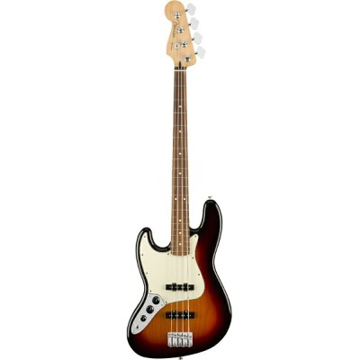 Fender Player Jazz Bass Left Hand -3-Color Sunburst / Pau Ferro- 新品 [フェンダーメキシコ][プレイヤー][Lefty,レフトハンド...