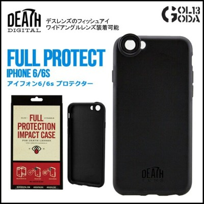 DEATH LENS FULL PROTECT IPhone CASE 6/6s用・ 6 Plus/6s Plus用 デス レンズ アイフォン用 スノーボード スケート【店頭受取対応商品】