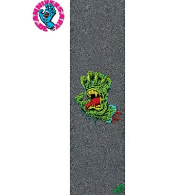 【MOB GRIP モブグリップ】9x33 SANTA CRUZ SCREAMING HAND ART SHOW VOL1 SKINNER HAND SHEETグリップテープ デッキテープ...