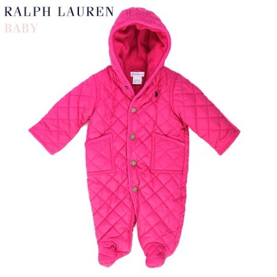 """(NB-9M) POLO by Ralph Lauren """"LAYETTE GIRL"""" Quilted Barn Bunting USラルフローレン (新生児)ベイビーサイズの キルティング..."""