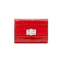 Fendi Peekaboo medium wallet - レッド