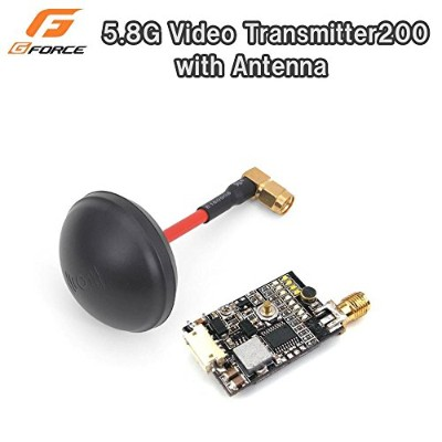 G-FORCE ジーフォース 5.8GHz FPV Systemシリーズ 5.8G Video Transmitter200 with Antenna G0214 【人気 おすすめ 】