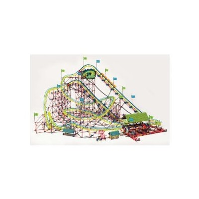 K'NEX (ケネックス) Thrill Rides Son of Serpent Coaster ブロック おもちゃ
