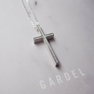 GARDEL TWO ME CROSS NECKLACE