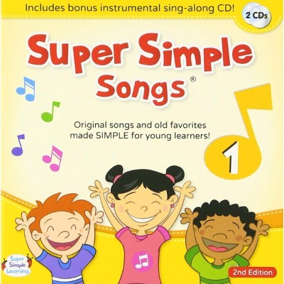 Super Simple Songs CD 1 (2nd Edition)