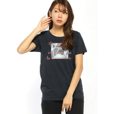 CRYSTAL BALL Hippie in Paris T-shirt L クリスタルボール カットソー【送料無料】