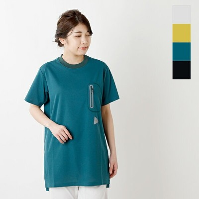 and wander(アンドワンダー) シームレスロングTシャツ aw-jt627-ms