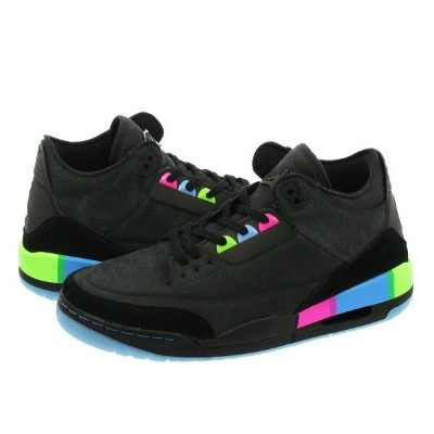 NIKE AIR JORDAN 3 RETRO 【QUAI 54】 ナイキ エア ジョーダン 3 レトロ BLACK/ELECTRIC GREEN at9195-001