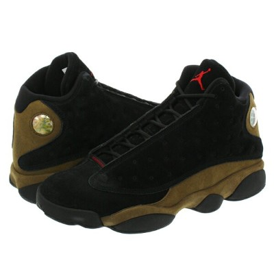NIKE AIR JORDAN 13 RETRO ナイキ エア ジョーダン 13 レトロ BLACK/TRUE RED/LIGHT OLIVE/WHITE 414571-006