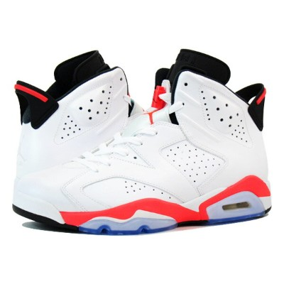 NIKE AIR JORDAN 6 RETRO ナイキ エア ジョーダン 6 レトロ WHITE/INFRARED/BLACK 384664-123