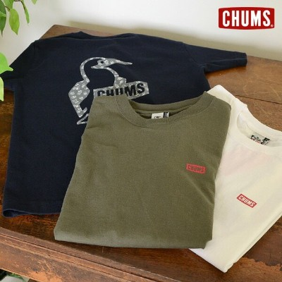 CHUMS Booby Cactus T-Shirt■CH01-1314_CH11-1314【レディース トップス ブービー カクタス柄 半袖 Tシャツ チャムス 】■2002199