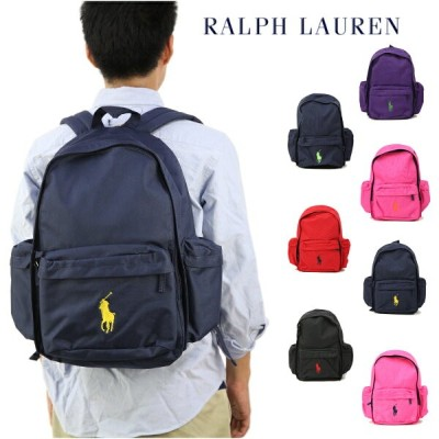 "Ralph Lauren ""BIG PONY"" School Backpack US ラルフローレン バックパック"