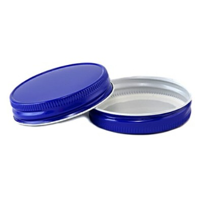 [SUPER PRICE] Blue Regular Mouth Complete Lid レギュラーマウス用 フタ ブルー 1個