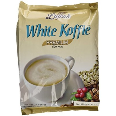 14oz Kopi Luwak White Koffie Premium (Pack of 1) by Kopi Luwak