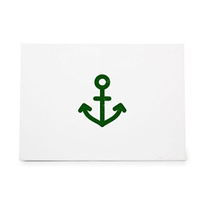Anchor Small Simple Ship Style 6208, Rubber Stamp Shape great for Scrapbooking, Crafts, Card Making...