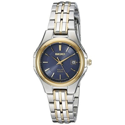 セイコー 腕時計 レディース SUT224 Seiko Women's SUT224 Ladies Dress Solar Analog Display Japanese Quartz Two...