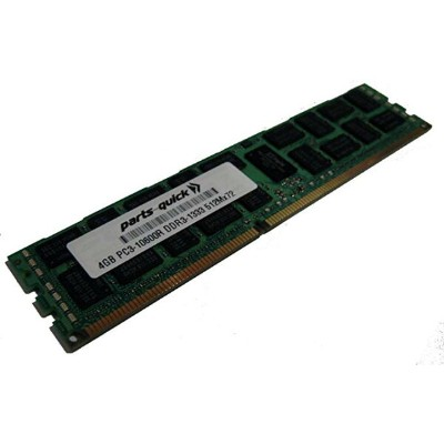 4GB Memory Upgrade for ASUS RS Server RS500A-S6/PS4 DDR3 1333MHz PC3-10600 ECC レジスター Server DIMM ...