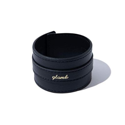(グラム) glamb Sid leather bangle GB0418/AC19 FREE BLACK
