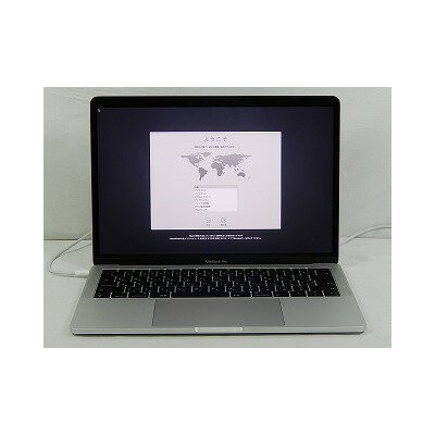 【中古】Apple MacBookPro/MPXR2J/A(A1708)/Corei5 7360U 2.3GHz/メモリ8GB/SSD128GB/13.3インチ/Mac OS 10.13.2...