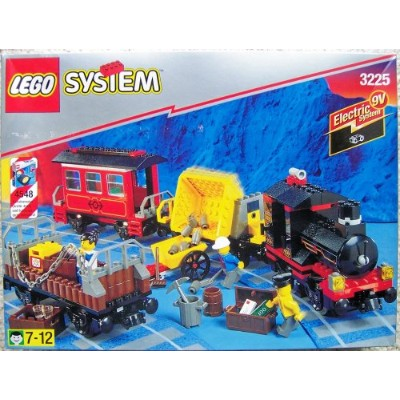 レゴ 3225 LEGO Trains 3225 Classic Train Locomotive Gondola Hopper Cabooseレゴ 3225