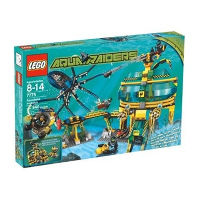 レゴ Lego Aqua Raiders 7775 Aquabase Invasionレゴ