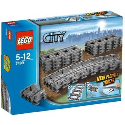 レゴ シティ 4609430 LEGO City Flexible Tracks 7499 Train Toy Accessoryレゴ シティ 4609430