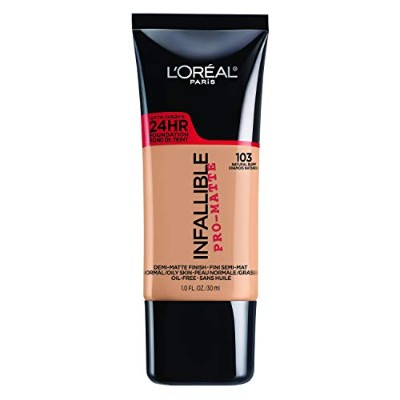 L'OREAL Infallible Pro Matte Foundation Natural Buff (並行輸入品)
