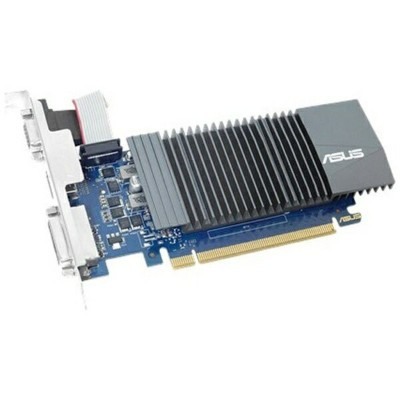 ASUS エイスース グラフィックボード NVIDIA GeForce GT 710搭載 PCI-Express GT710-SL-2GD5-BRK[2GB/GeForce GTシリーズ]...