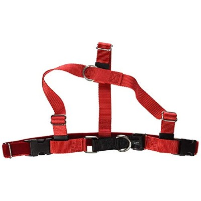 Freedom No-Pull Dog Harness Training Package - 1 Width Large Red by Wiggles Wags Whiskers