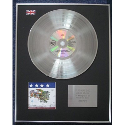 Jefferson Airplane - Limited Edition CD Platinum LP Disc - After Bathing at Baxter's